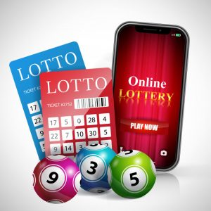 Online lottery website