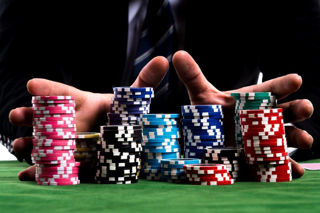 playing gambling